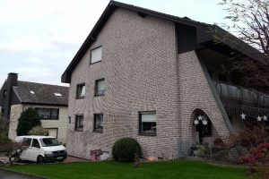 Klinker- Fassade vorher in Bielefeld
