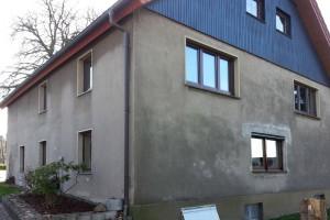 Fassadenanstrich alt