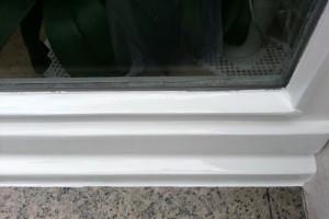 Holzfenster neu lackiert